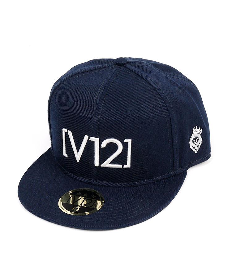 VI 「V12」シンプル平つばキャップ