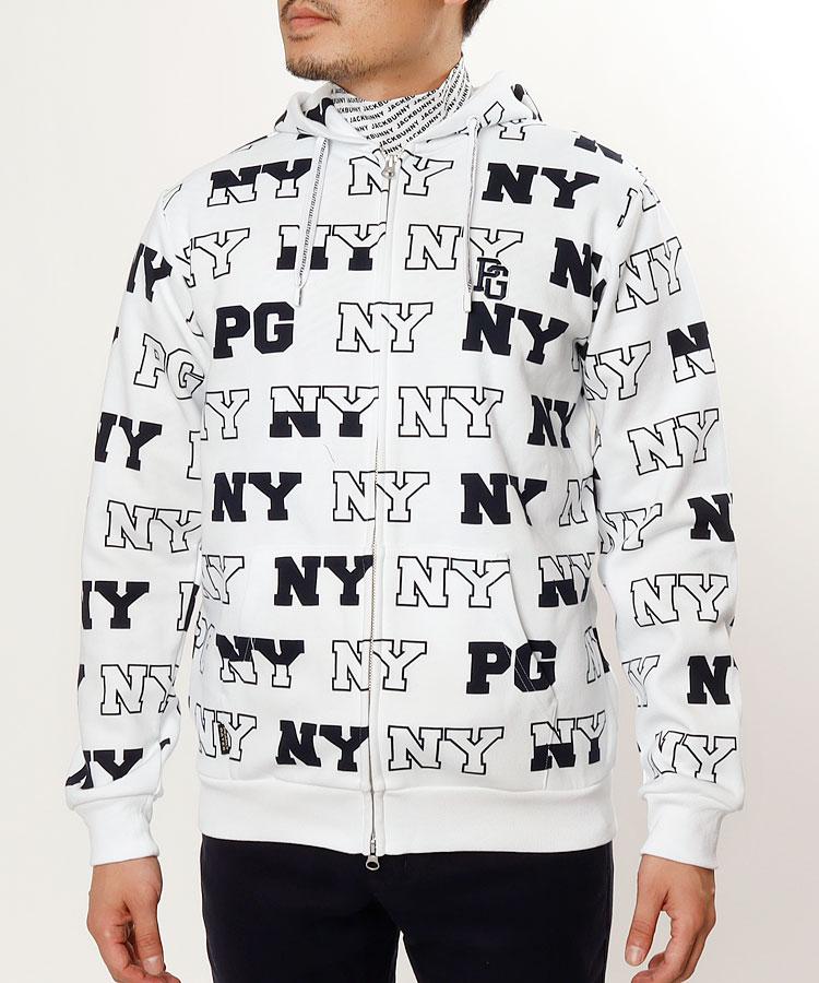 【3000円クーポン付き】PG NY&PGロゴスウェットパーカー