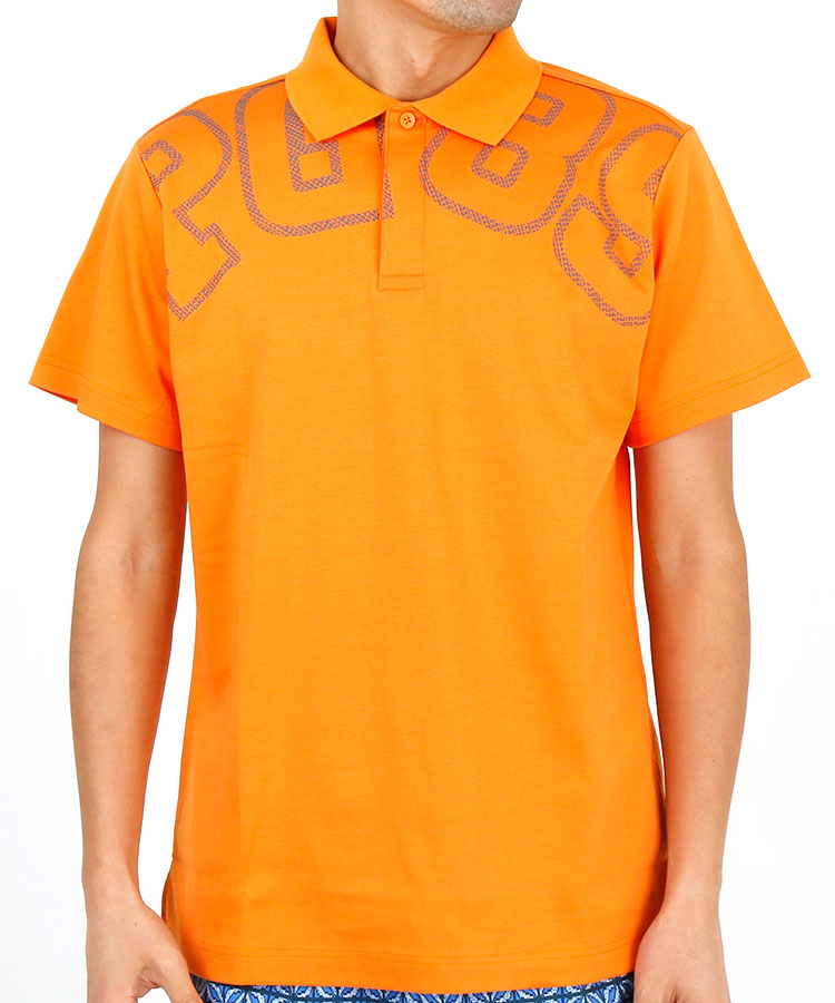 PG ビッグ「PG89」ロゴ◆ポロシャツ