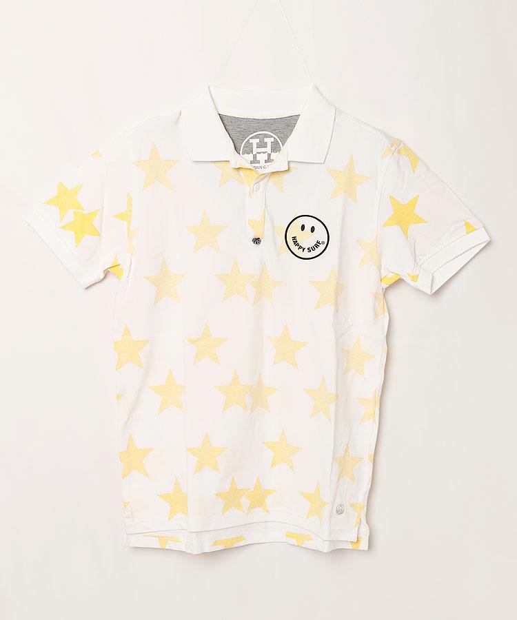 HO スタープリントポロシャツ