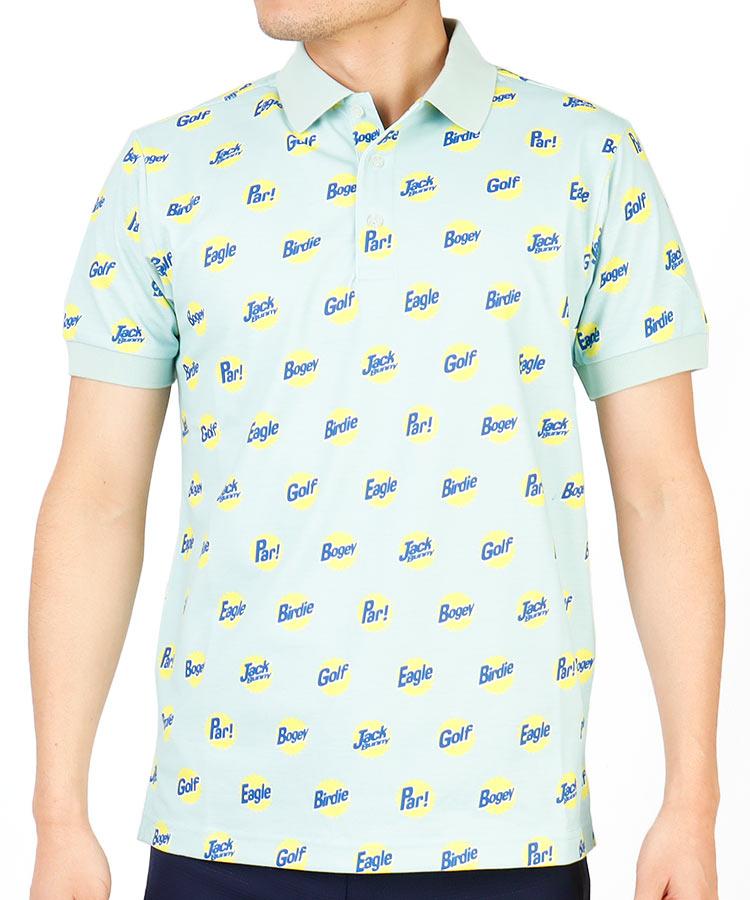 【2000円クーポン付き】JB ゴルフWordプリントポロシャツ