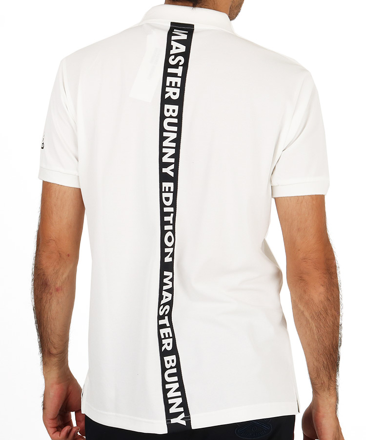 MB ロゴラインテープポロシャツ