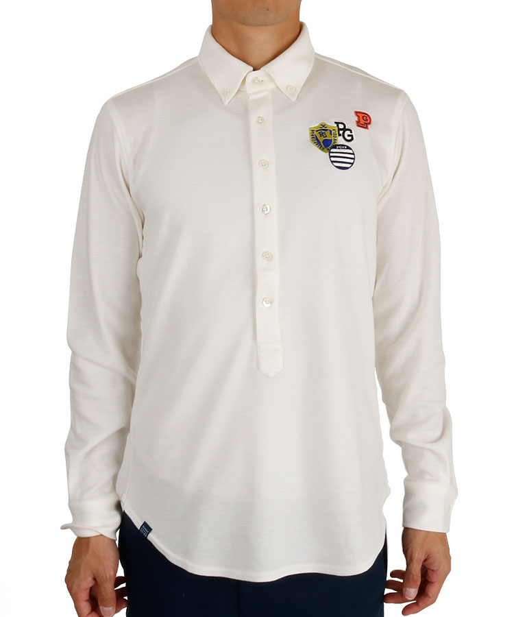 PG 吸湿発熱ストレッチ鹿の子ポロシャツ