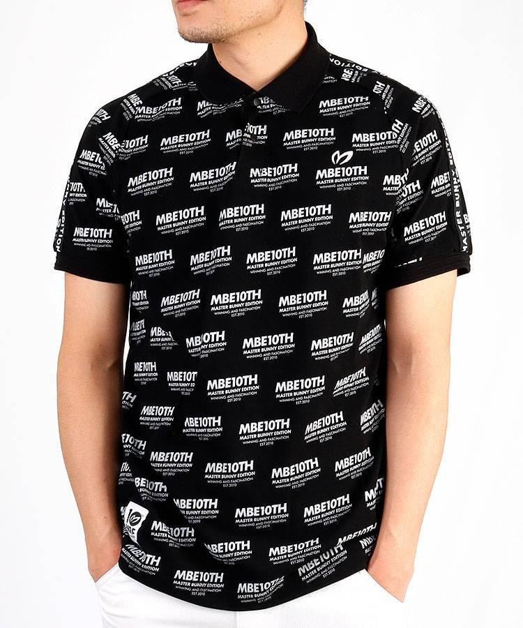 MB 10thロゴレタリングポロシャツ