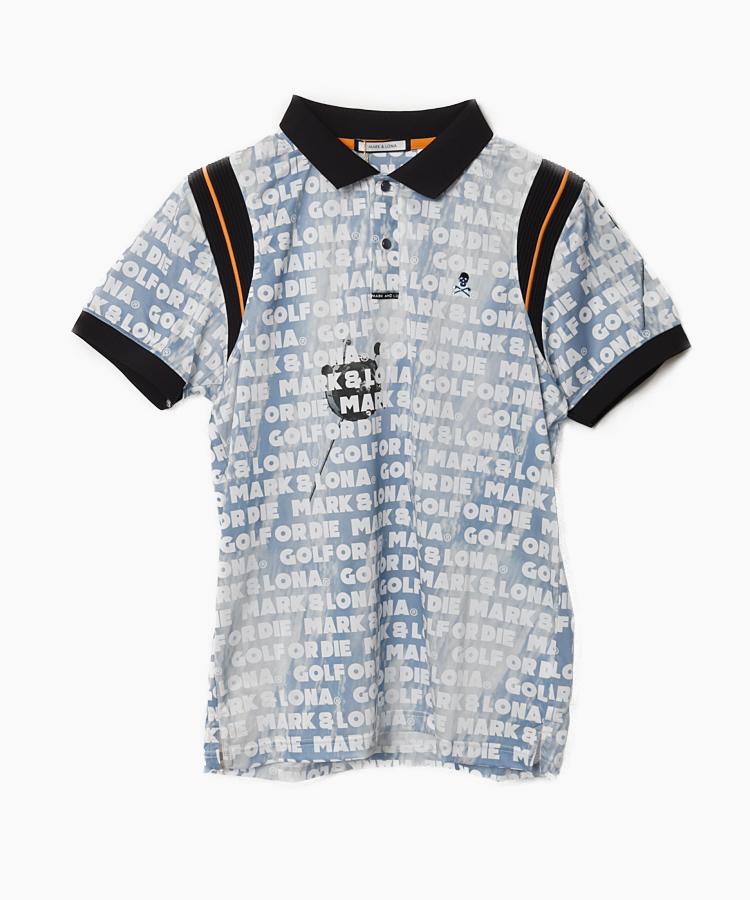 ML コズミックプリントポロシャツ