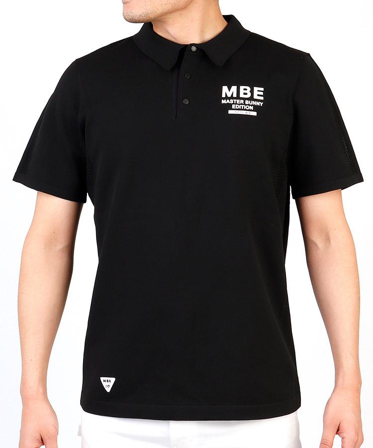 MB デザインメッシュポロシャツ