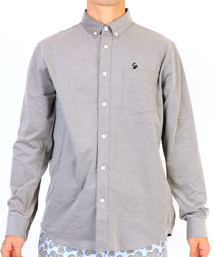 JR COOLMAX鹿の子ボタンダウンシャツ