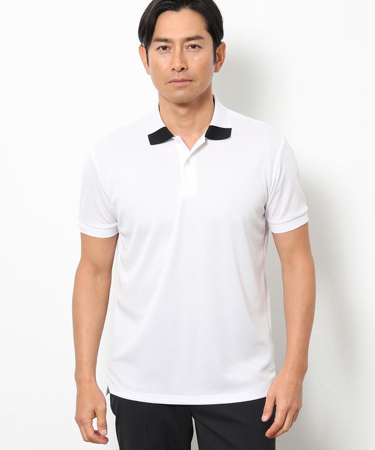 JR バックプリントポロシャツ