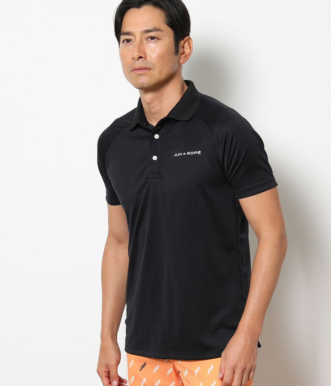 JR バックカラーブロックポロシャツ