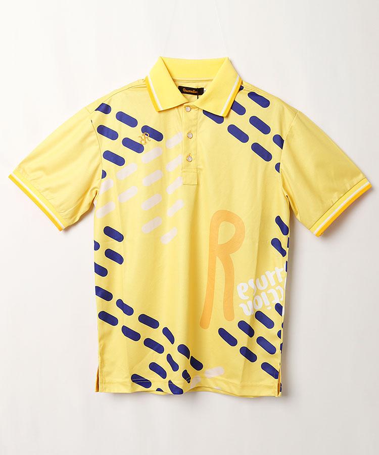 RR BIGロゴ半袖ポロシャツ