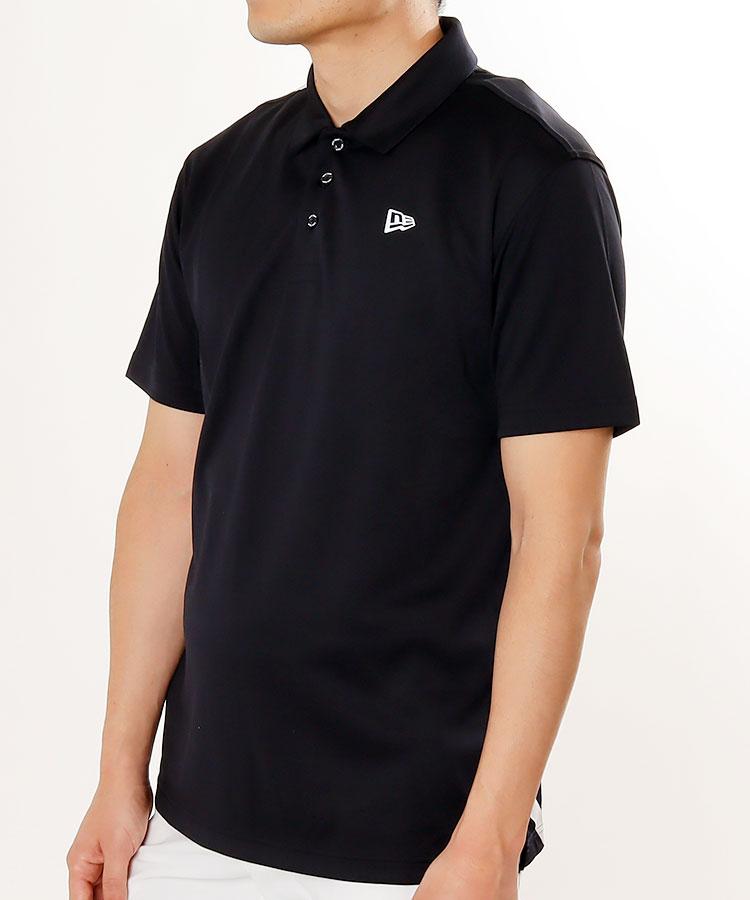 NE BIGバックロゴ半袖ポロシャツ