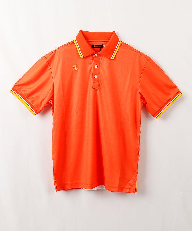 RR バックロゴ半袖ポロシャツ