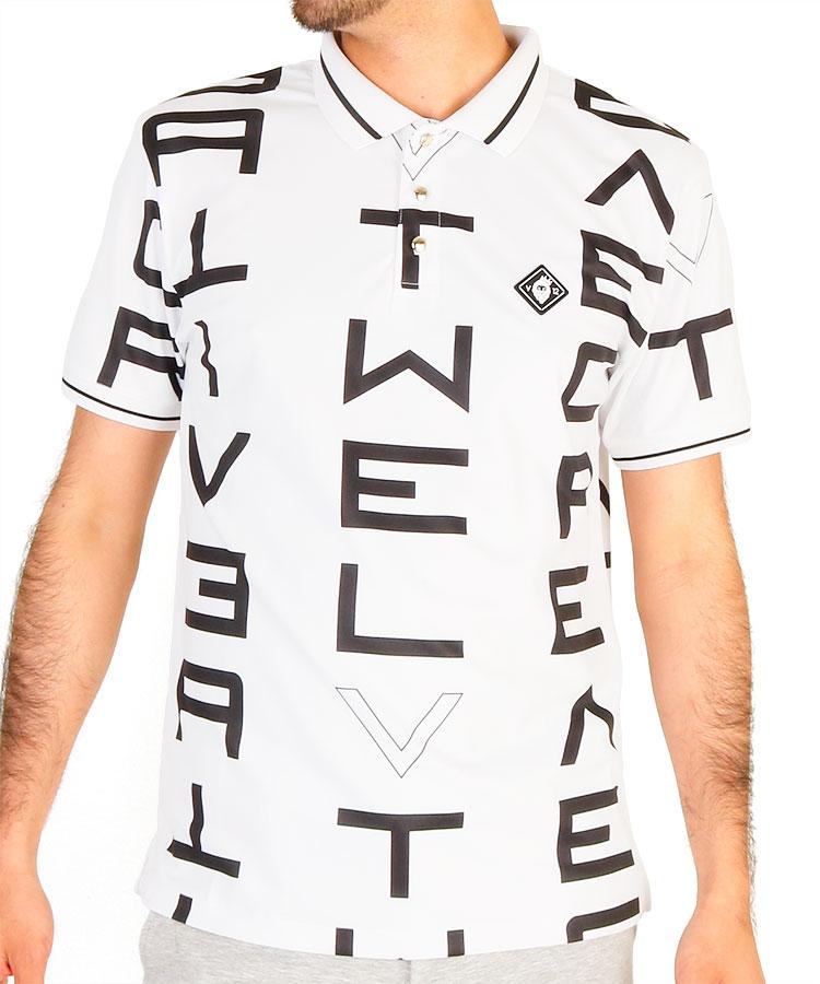 VI GALAXYロゴポロシャツ