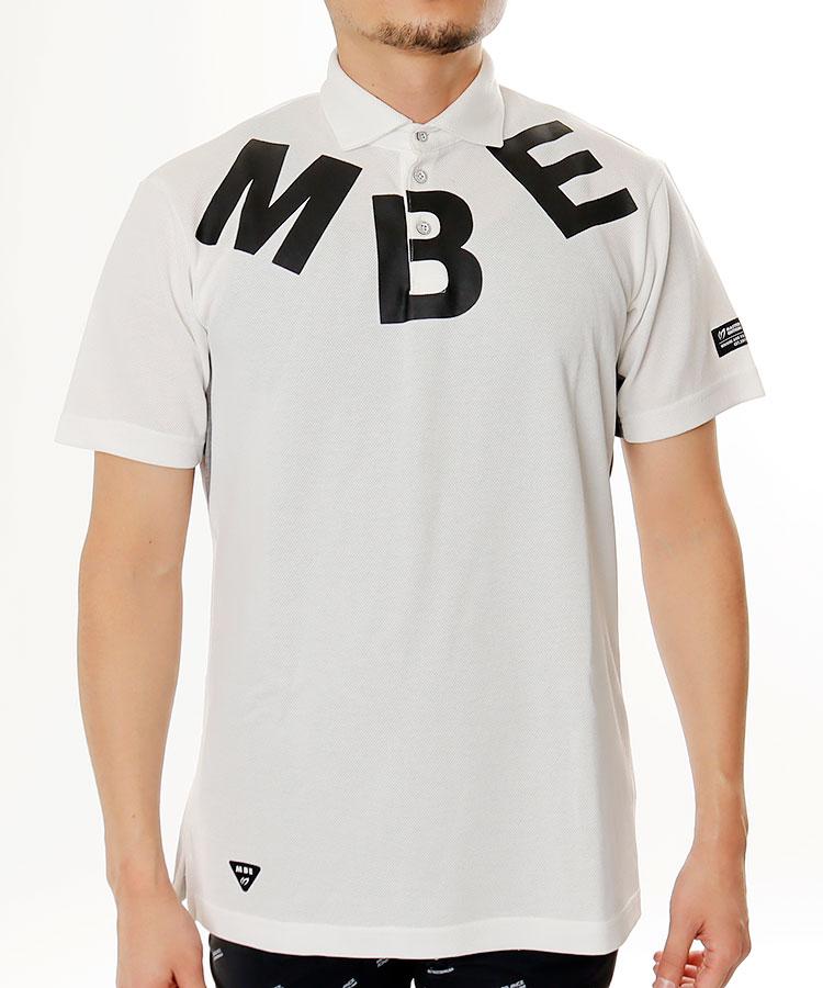 MB BIGロゴ◆カノコポロシャツ