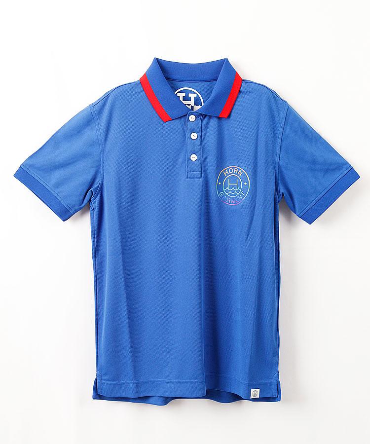 HO レインボーWAVE'N◆半袖ポロシャツ