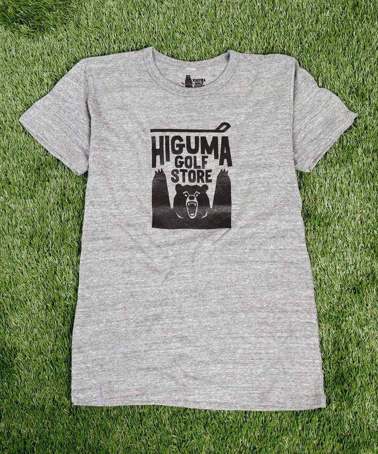 OT ヒグマゴルフストア◆ロゴTシャツ