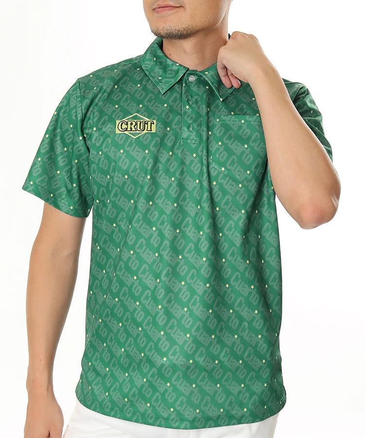 CU バイアスロゴ◆半袖ポロシャツ