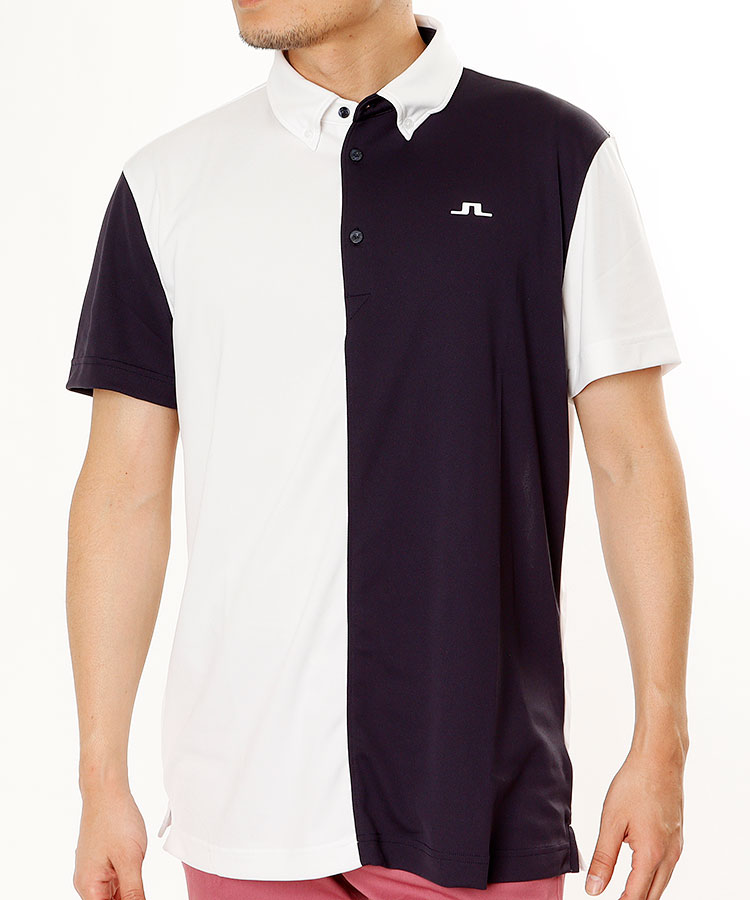 JL 吸湿速乾◆バイカラー半袖ポロシャツ