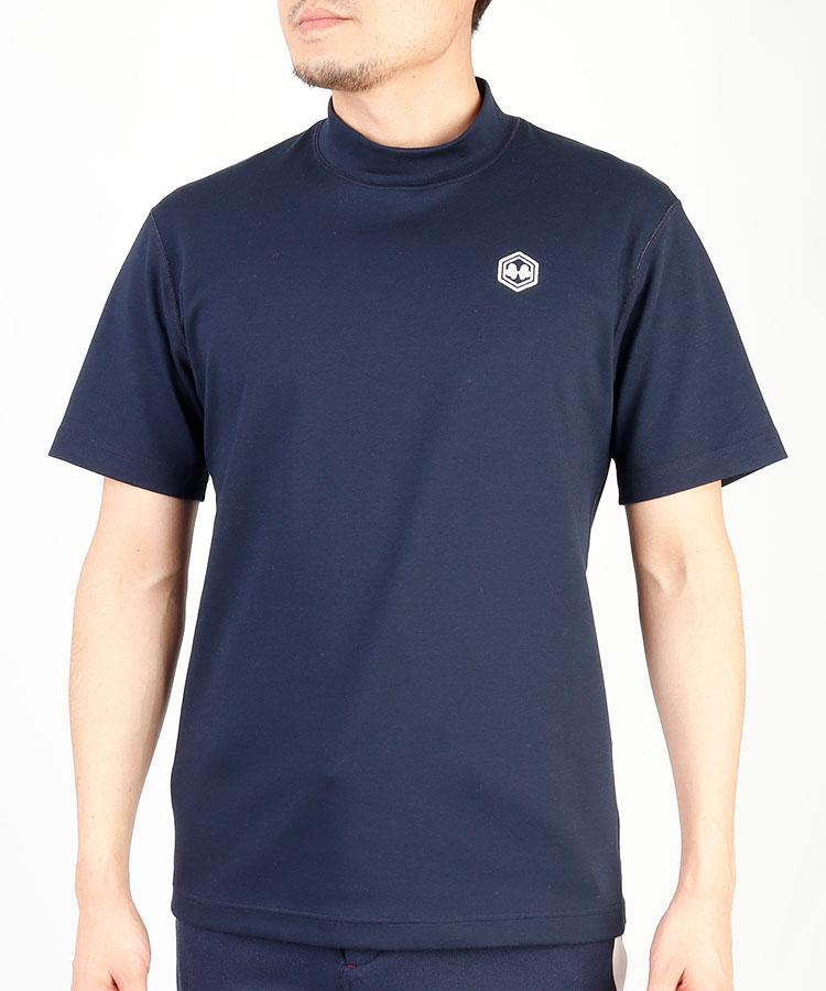 TV リバーシブル半袖モックTシャツ