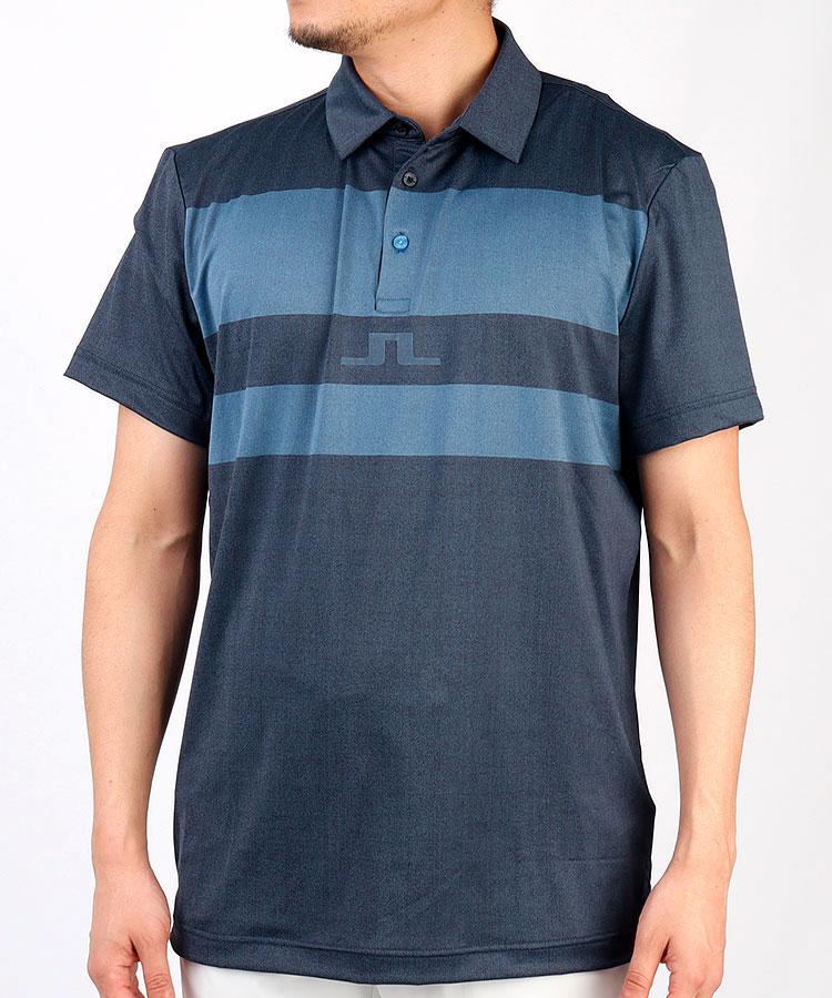 JL スリムフィット配色ポロシャツ