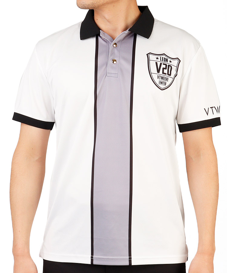 VI BACKビッグロゴ◆半袖ポロシャツ