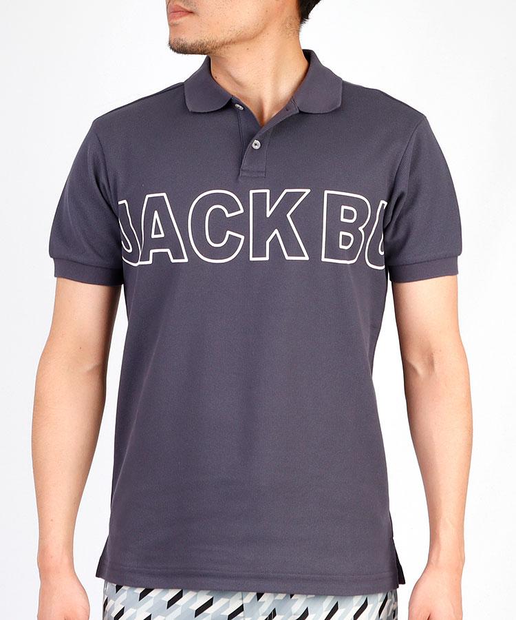 JB ぐるっとロゴ◆半袖ポロシャツ
