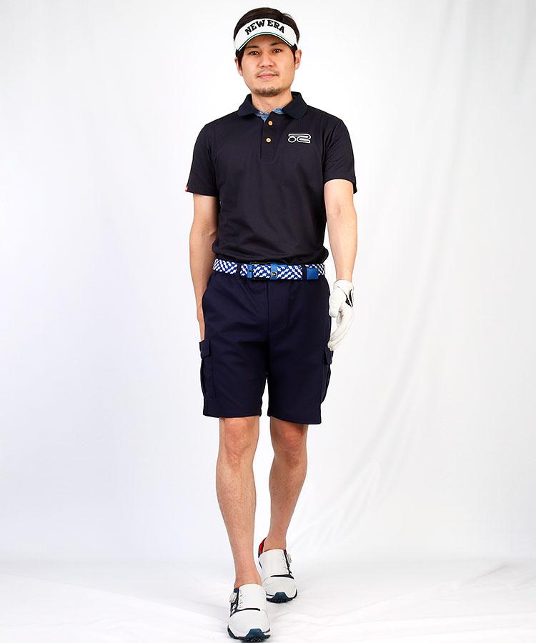 RO 接触冷感◆カノコ半袖ポロシャツ