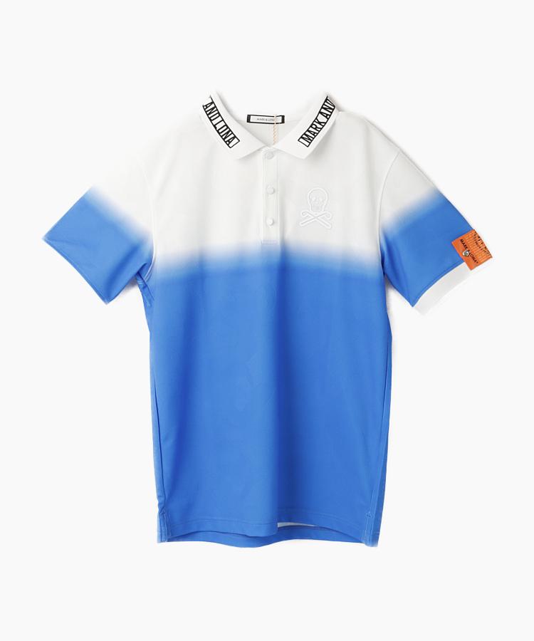 ML グラデーション◆半袖ポロシャツ