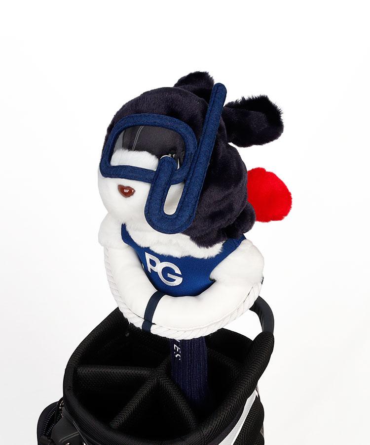 PG うさぎダイバー★ヘッドカバー