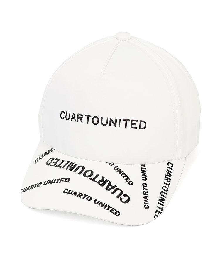 CU ロゴプリント◆撥水キャップ