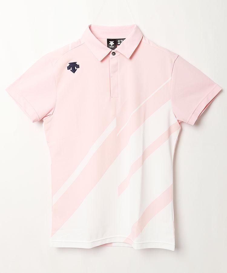 DE 多機能素材◆半袖ポロシャツ