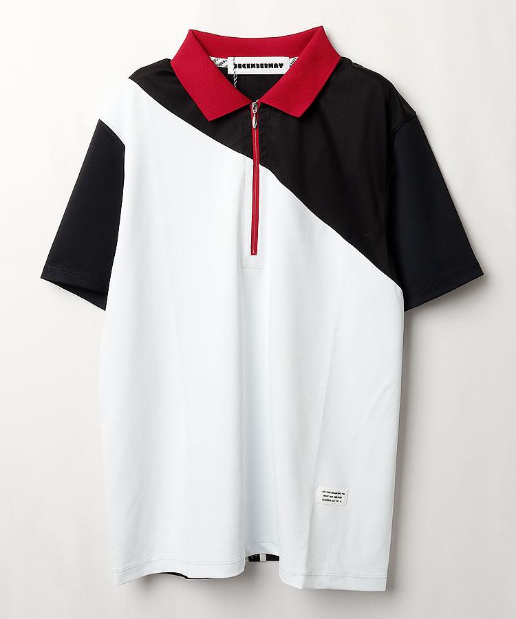 DM COOL&DRY◆配色半袖ポロシャツ