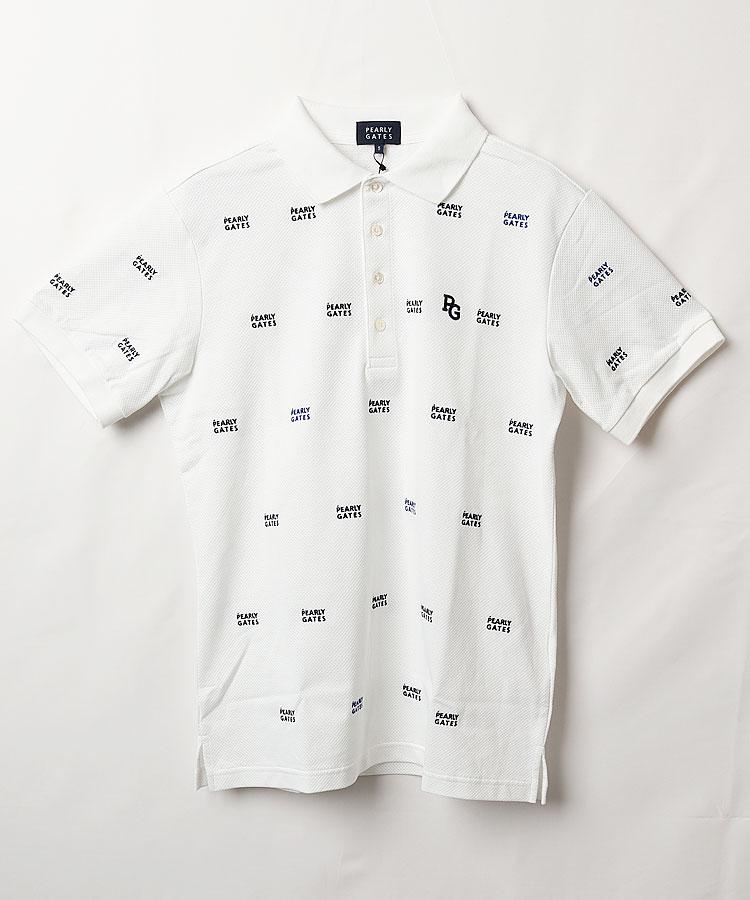 PG DRYMASTER◆2段ロゴ半袖ポロシャツ