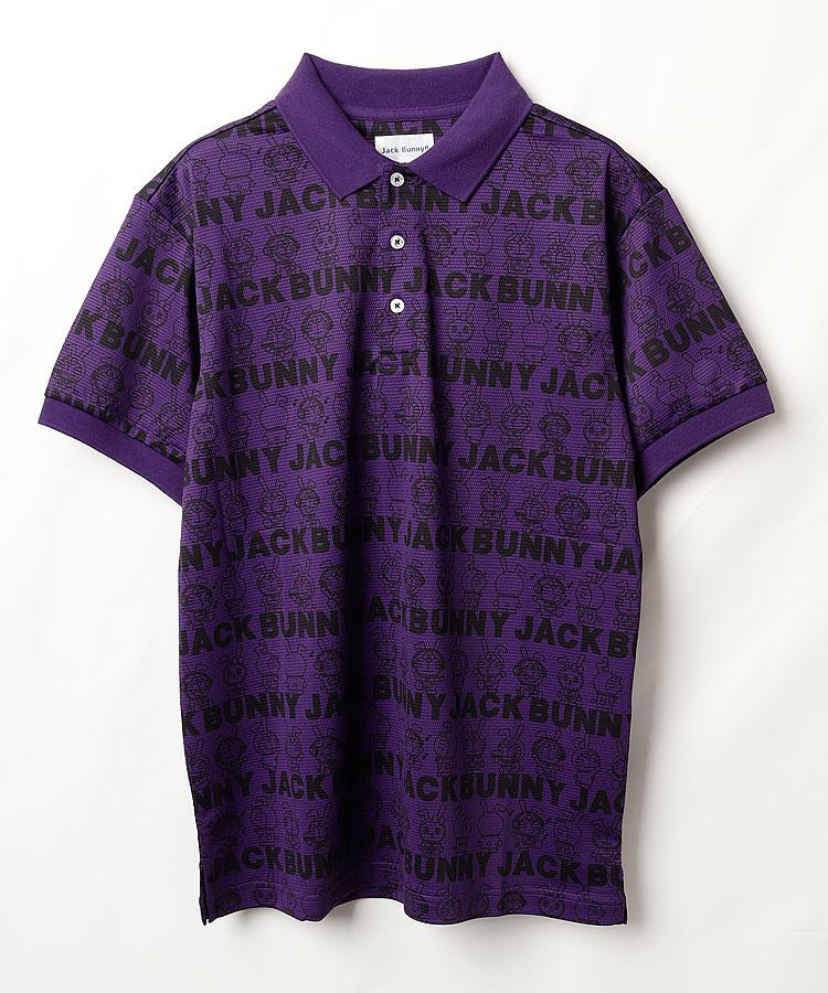 JB ドラえもん◆LOGOボーダー半袖ポロシャツ