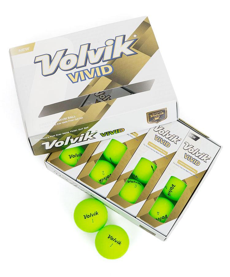 VO Volvik◆Vividカラーボールセット(グリーン)