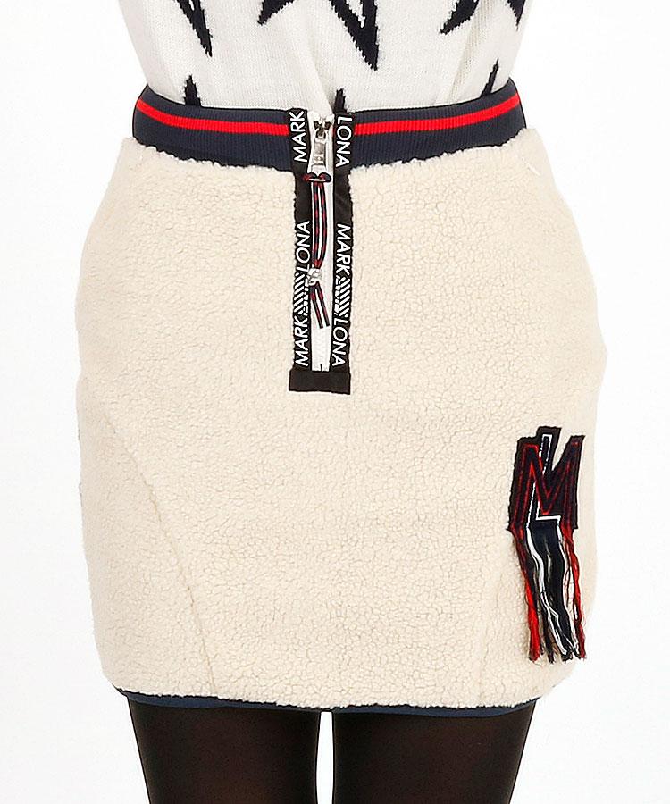 ML Frontボア♪Backキルト中綿スカート