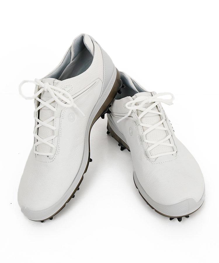 EC GolfBiomG2◇YAKレザースパイクシューズ(ライトグレー)