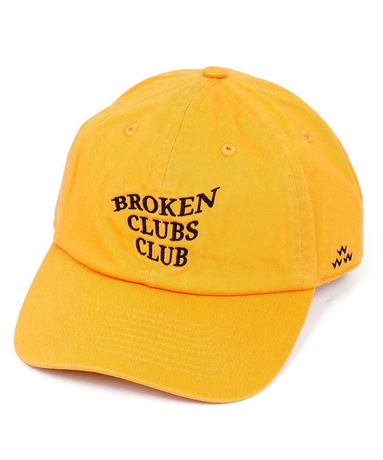 BC BrokenClubsClub刺しゅう柔らかキャップ