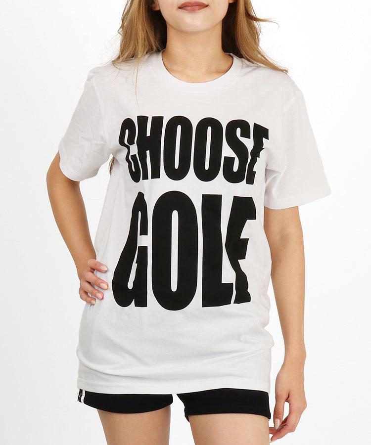 BC ChooseGolfプリント★半袖Tシャツ