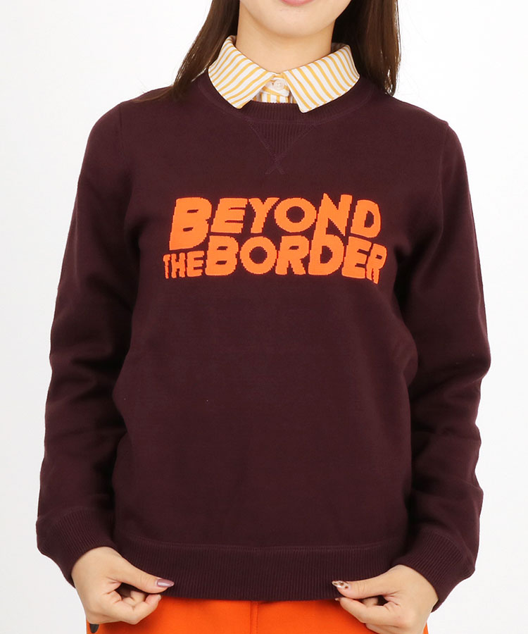 JB BeyondTheBorder★クルーネックニット
