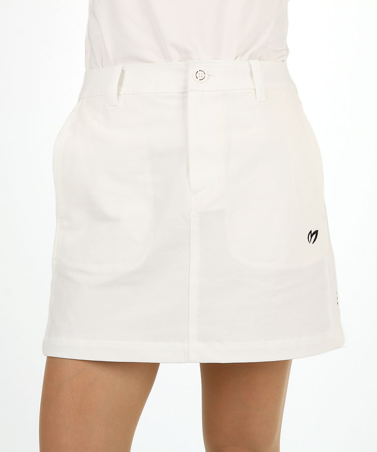MB 微起毛◆ロゴPointスカート