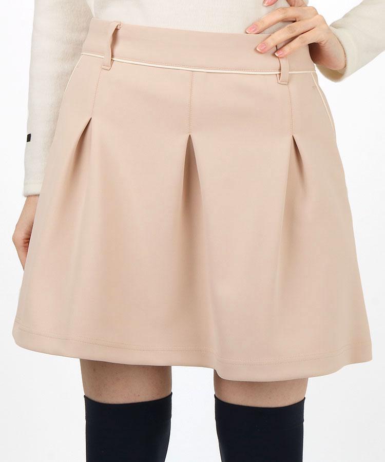 JR タックフレア♪ペチ付ポンチスカート