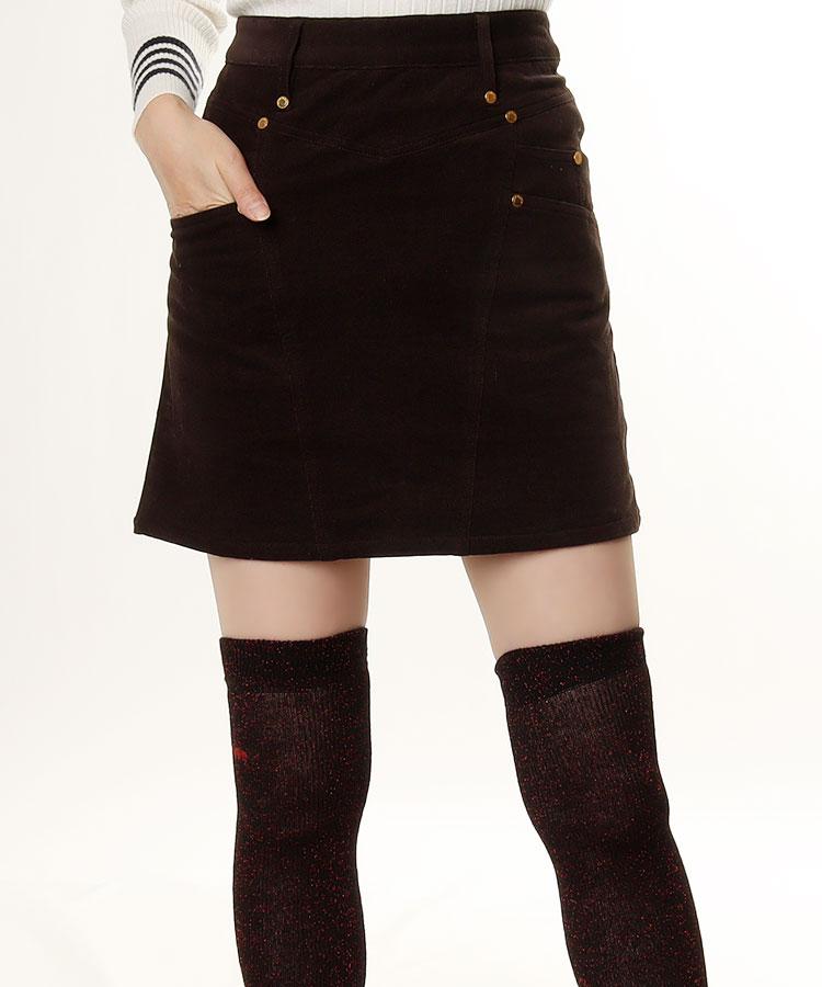 ML BOXポケ◆起毛スカート