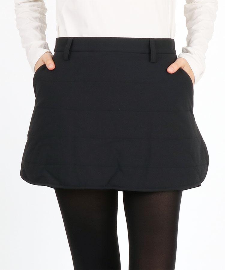 AG フラップ風裾♪ペチ付中綿スカート