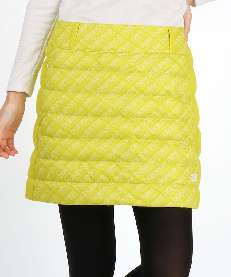 NB ロゴモノグラム切替◆中綿スカート
