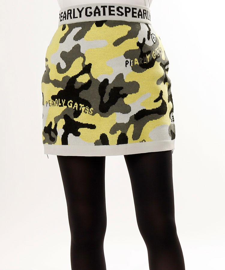 PG カモフラ柄◆ニットスカート