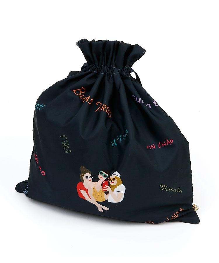 AC FashionistaGirl★巾着型トラベルバッグ