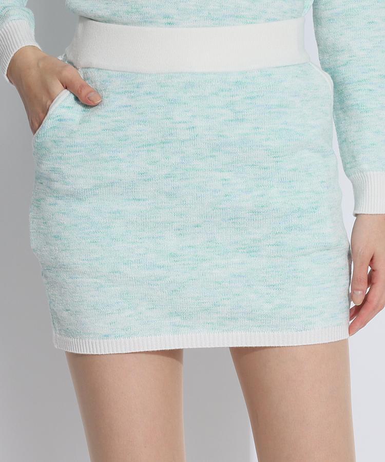SD ツイード調♪ニットスカート