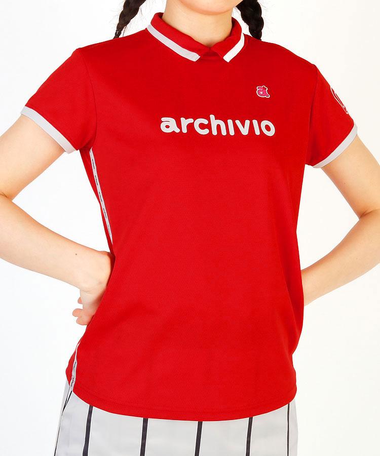 AR 「09」Sleeve◆アシメロゴ入りSIDEライン半袖カットソー