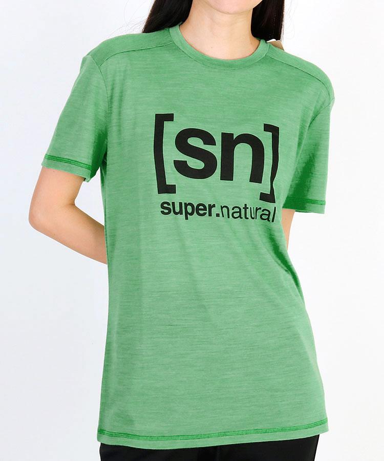 SN 定番系[sn]ロゴPrint◆Relaxライト半袖Tシャツ